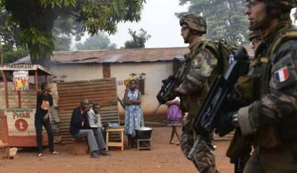 Des soldats français en opération en Centrafrique.
