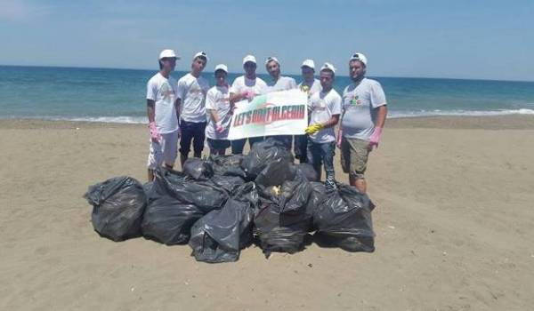 Les jeunes volontaires à l'oeuvre pour la protection de l'environnement