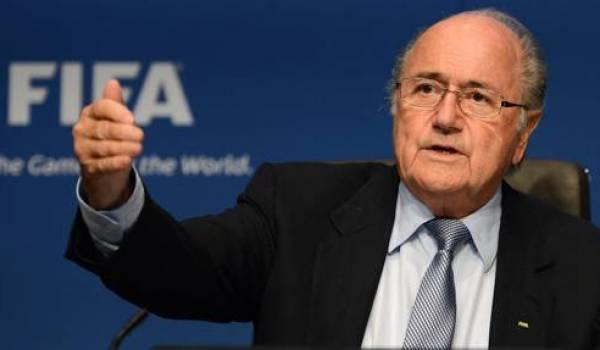 Sepp Blatter, pour la 5e fois président de la FIFA
