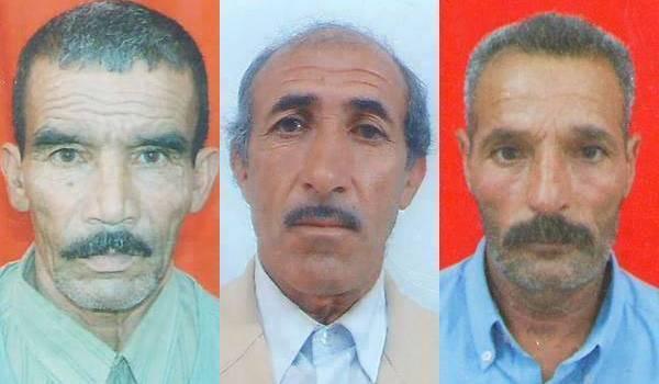 Trois des quatre victimes de l'ignoble attentat.