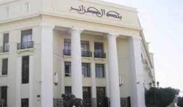 La Banque d'Algérie.