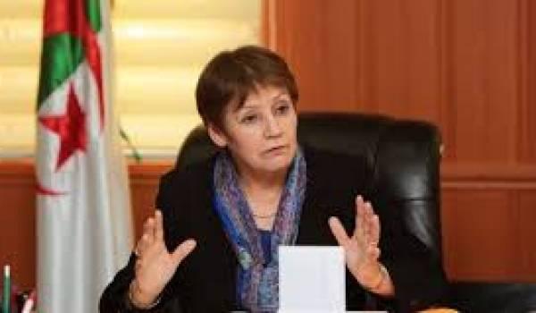 Nouria Benghebrit, ministre de l'Education, souvent sous le feu des critiques.