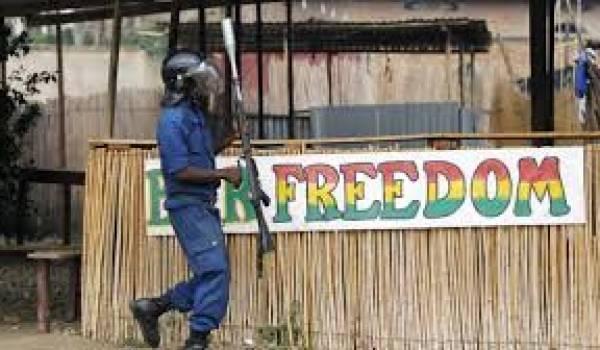 L'ordre militaire en marche au Burundi.