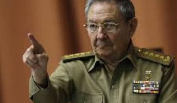 Raul Castro, héritier du pouvoir de son frère Fidel Castro est à Alger pour une visite de trois jours.
