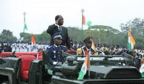 Alassane Ouatara, président de la Côte d'Ivoire.