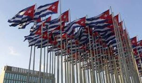 Cuba toujours sous embargo.