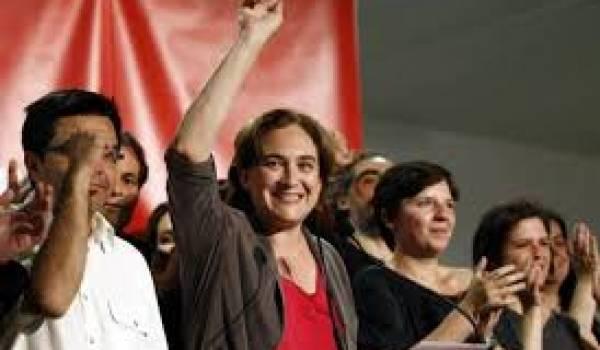 Les indignés en tête des élections à Barcelone.