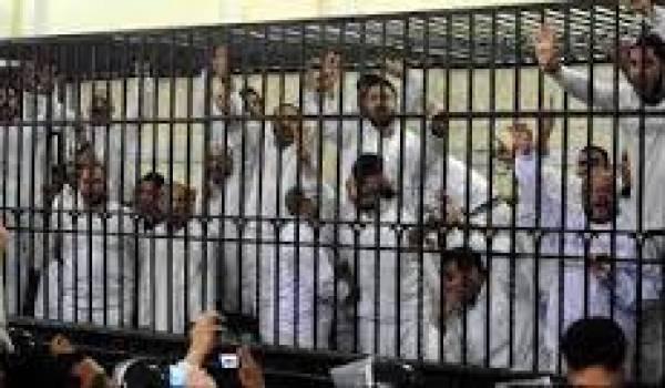 Des centaines d'islamistes sont condamnés à mort depuis le putsch mené par le maréchal Al Sissi.