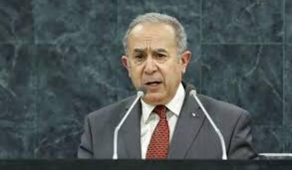 Ramtane Lamamra a redonné du respect à la diplomatie africaine de l'Algérie.