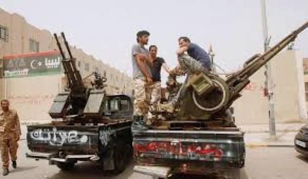 La Libye déchirée par les milices.