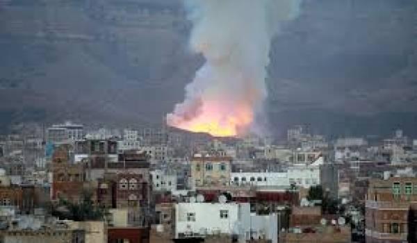 La coalition arabe multiplie les attaques.