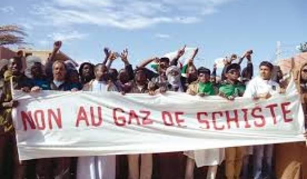 Plusieurs organisations soutiennent le mouvement de gaz de schiste.