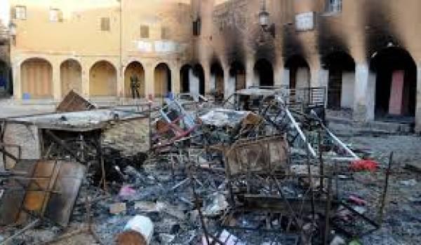 La société algérienne gagnée par la violence.