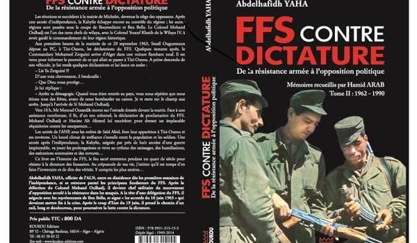 La couverture du livre : FFS contre dictature.