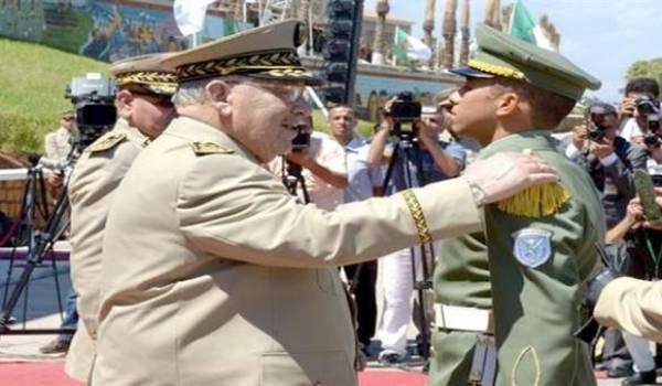 Le général de corps d'armée Ahmed Gaïd Salah