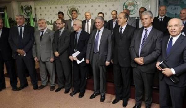 L'opposition réunie au sein de la CNLTD.