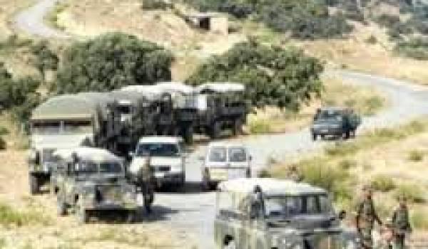 L'armée a mené une embuscade jeudi soir dans les environs de Draa El Mizan.