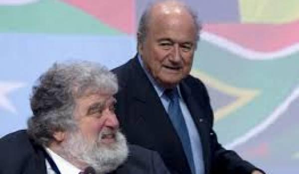 Chuck Blazer avec Sepp Blatter