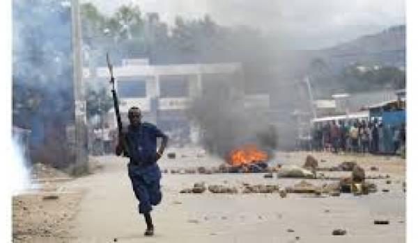 Les manifestations et la répression sont quotidien au Burundi