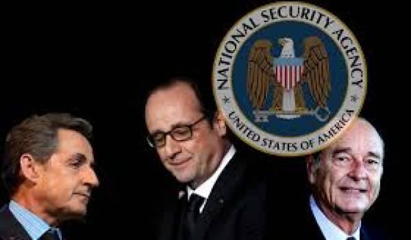 Trois présidents français espionnés par la NSA américaine