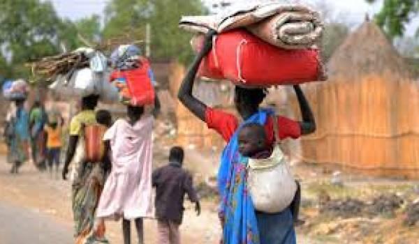 LE CICR tire la sonnette d'alarme sur la situation des déplacés du Soudan sud.