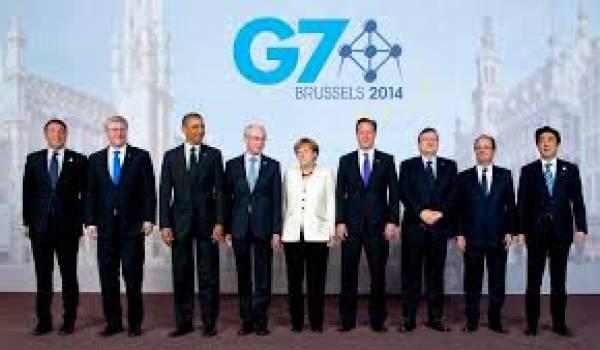 Les dirigeants du G7 soutiennent l'objectif de limiter la hausse de la température moyenne dans le monde d'ici à 2100 à 2°C