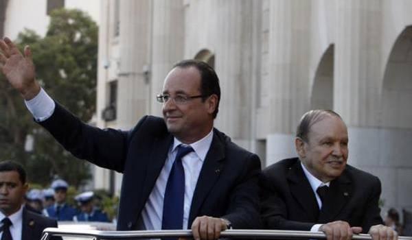 François Hollande ira à Alger pour défendre les intérêts de la France en Algérie.