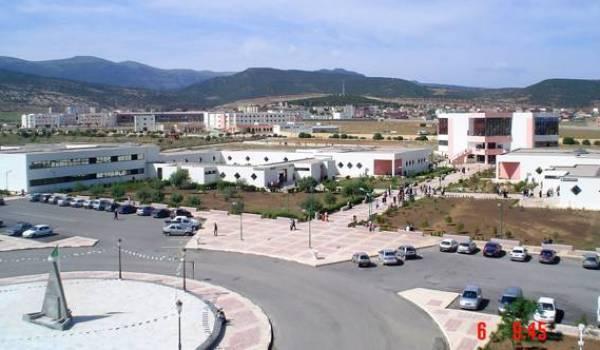 L'université de Khenchela.