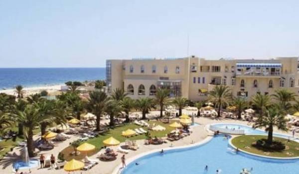 Un des hôtels visés par l'attaque terroriste.