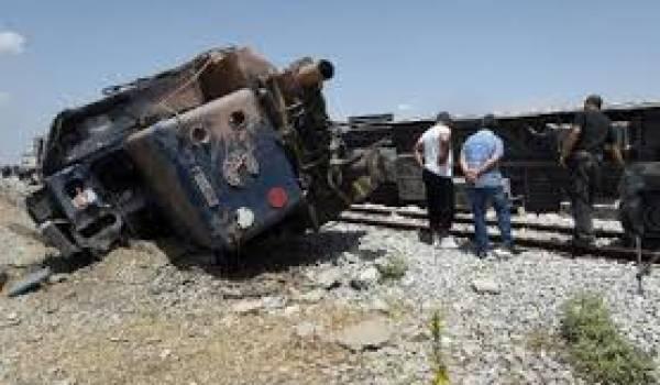 Un grave accident de train a eu lieu mardi.