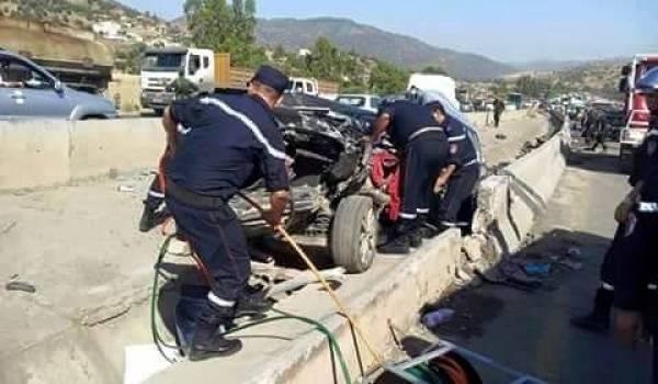 Un mort et 19 blessés dans cet accident.