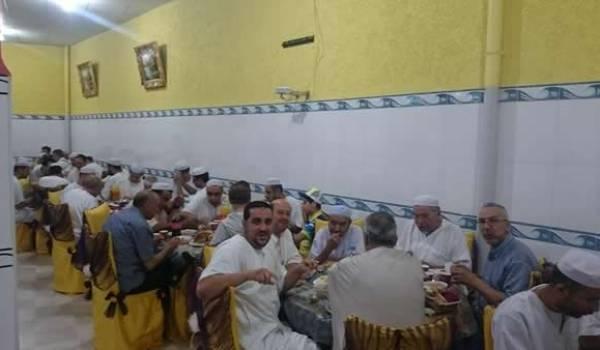 Repas de solidarité avec les Mozabites à Batna.