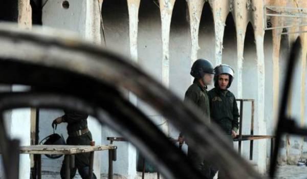 Ghardaia sous état d'urgence maquillé.