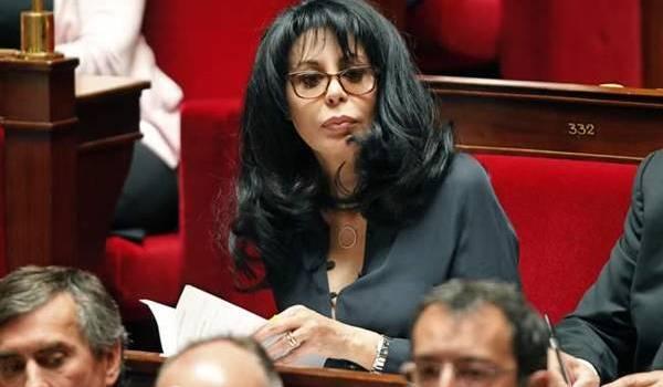 Yamina Benguigui, ancienne ministre, à l'Assemblée nationale française.
