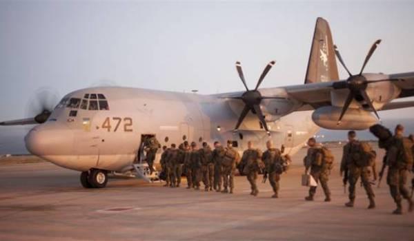 L'Algérie est bousculée par l'interventionnisme franco-américain dans le Sahel. Ici troupes américaines