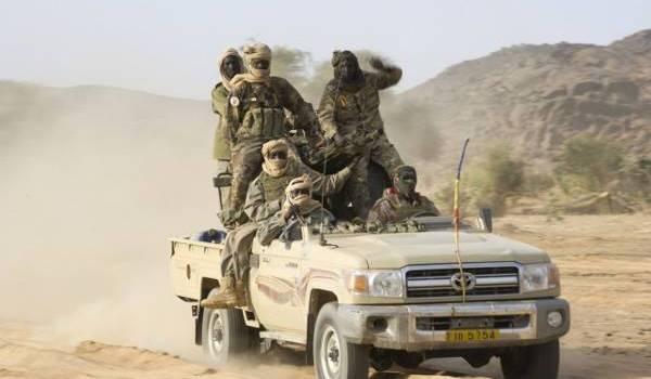 Offensive de l'armée tchadienne.