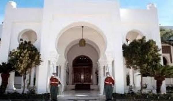 La présidence algérienne.