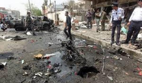 L'attentat est mené vendredi à Khan Bani Saad à l'aide d'une voiture piégée