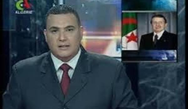 Le journal télévisé algérien tout droit sorti de l'époque de la glaciation.