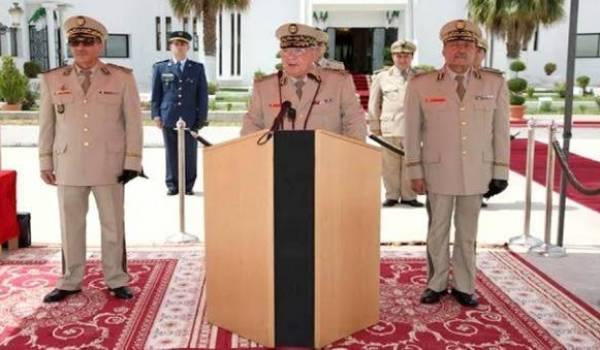 Ahmed Gaïd Salah, vice-ministre de la Défense nationale
