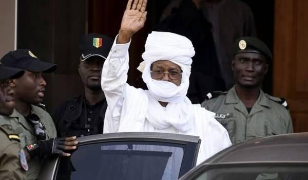 Hissene Habré, l'ancien dictateur tchadien.