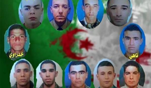 Les jeunes soldats tombés dans l'embuscade d'Ain Defla. Qu'ils reposent en paix.