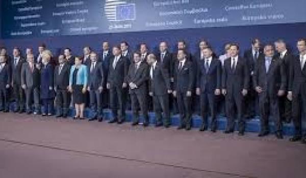 Le sommet européen annulé aujourd'hui. Photo du dernier sommet du 25 juin.
