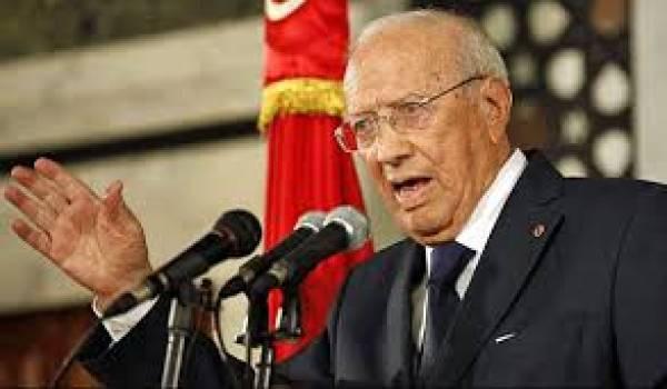 Le chef de l'Etat tunisien Béji Caïd Essebsi