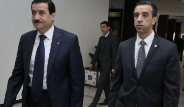 Ali Haddad, patrons des patrons et Amar Ghoul, ministre du tourisme.