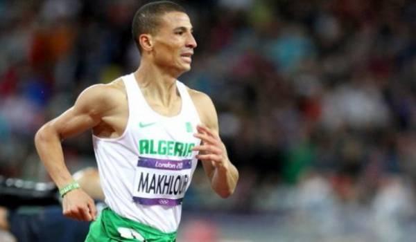 L'Algérien Taoufik Makhloufi