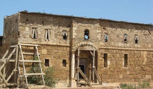 Un château turc à l'abandon