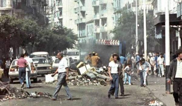 Le traumatisme d'octobre 1988 est encore dans les consciences. Le pouvoir l'a-t-il intériorisé ?