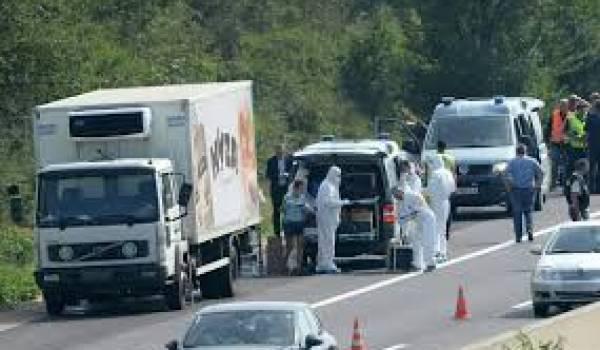Des réfugiés morts d'asphyxie dans un camion de transport