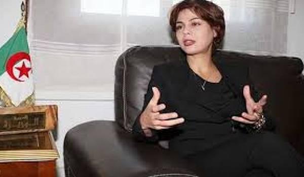 La ministre de la Poste et des TIC, Houda Imane Feraoun